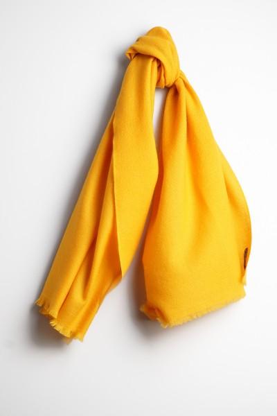 Pashmina Schal 100% Kaschmir tibetan yellow