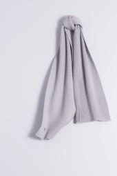 Child's cashmere scarf grey