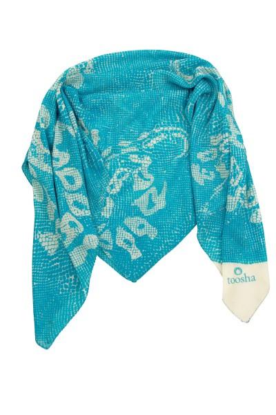 Carré Snake blue atoll