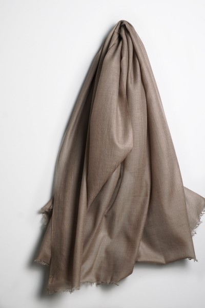 Summer Pashmina fungi grey