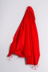 Pashmina 90x200cm red