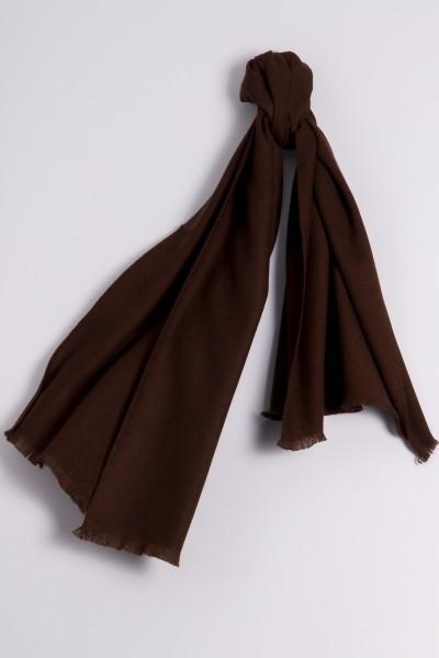 Pashmina 100% Cashmere brown