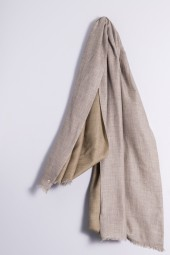 Pashmina Double light grey/light coffee