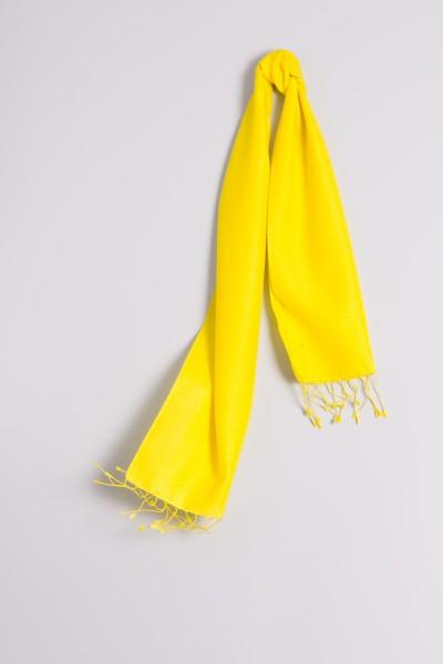 Pashmina 30x150cm gelb