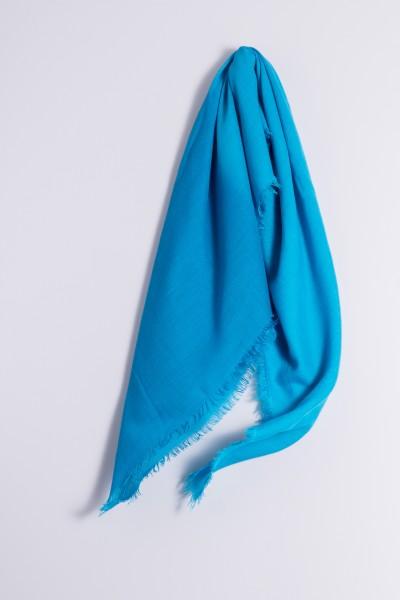 Carré 100% Cashmere Blue Atoll / Hawaiian Ocean