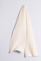Cable Stitch Shawl 100% Cashmere offwhite