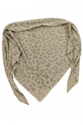 Triangle Leopard grey melange