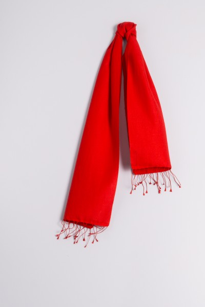 Pashmina 30x150cm red