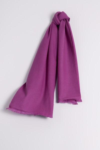Pashmina 100% Cashmere purple
