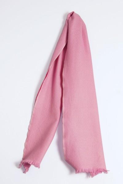 Winterschal 100% Kaschmir rosa