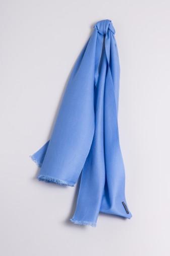 Pashmina 45x180cm himmelblau