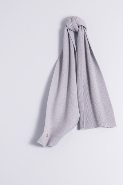 Child's cashmere scarf grey