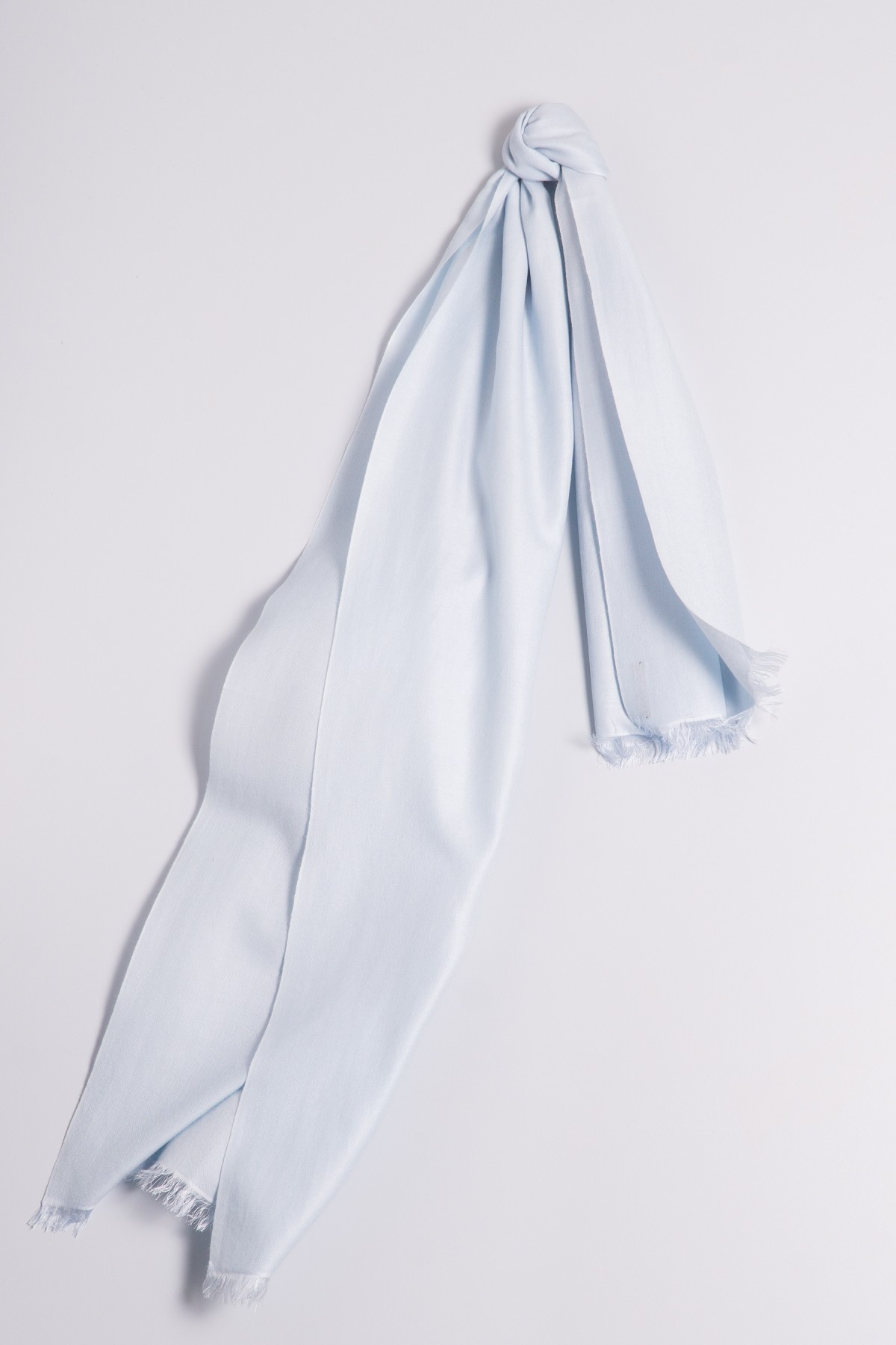 Pashmina 45x180cm light blue