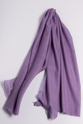 Yamato Pashmina lavender gray