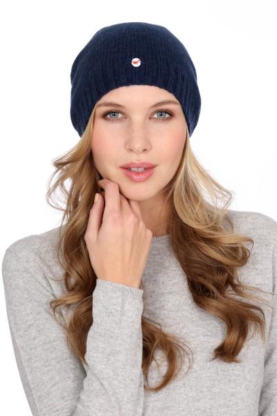 Fine Knit Cashmere Cap astral