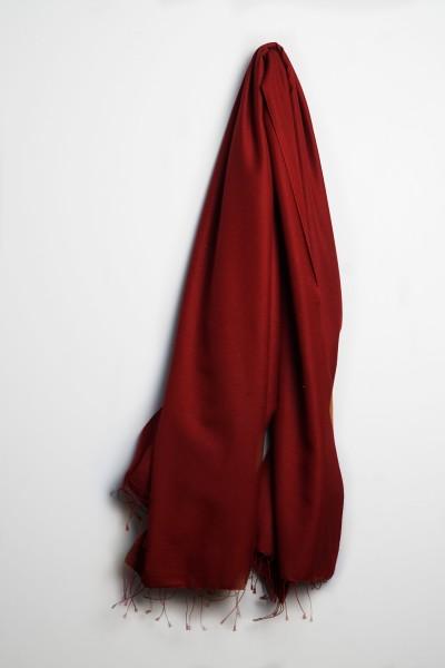 Pashmina 70x200cm tibetan red