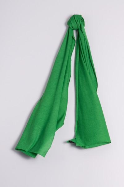 Kaschmirschal Feinstrick smaragd