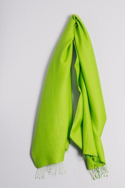 Pashmina 70x200cm grasgrün