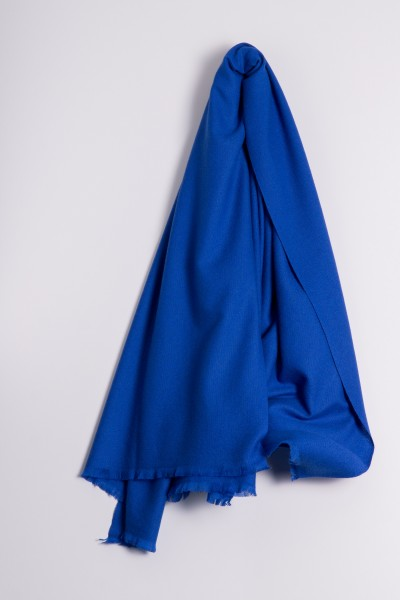 Pashmina 100% Cashmere royal blue