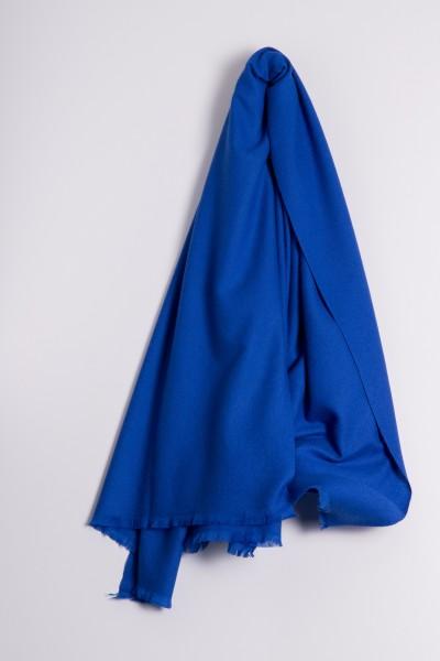 Pashmina 100% Kaschmir royal-blau
