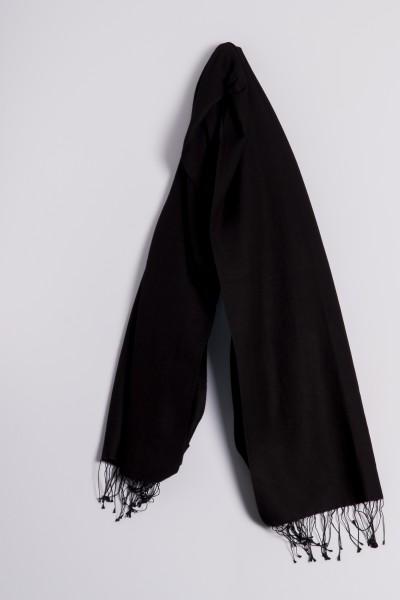 Pashmina 70x200cm schwarz