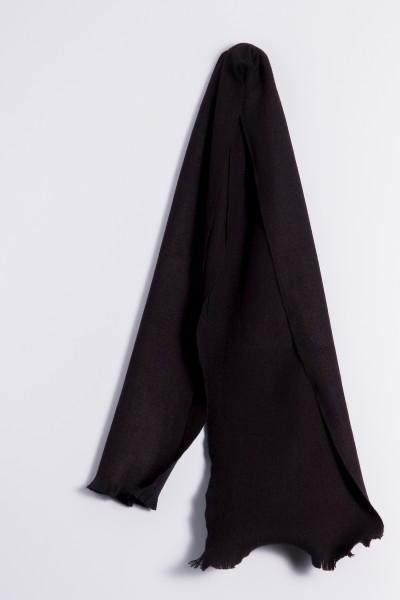 Winter Scarf 100% Cashmere black