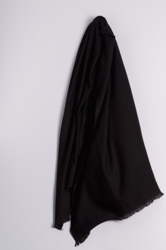 Pashmina 100% Kaschmir schwarz