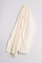 Pashmina 90x200cm wool white