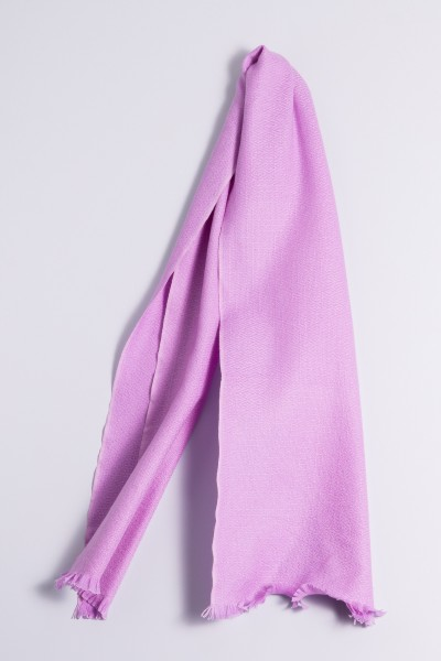 Winter Scarf 100% Cashmere lilac