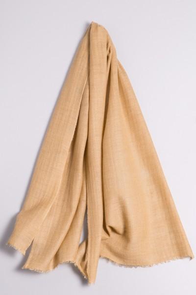 Kaschmirschal handspun sand