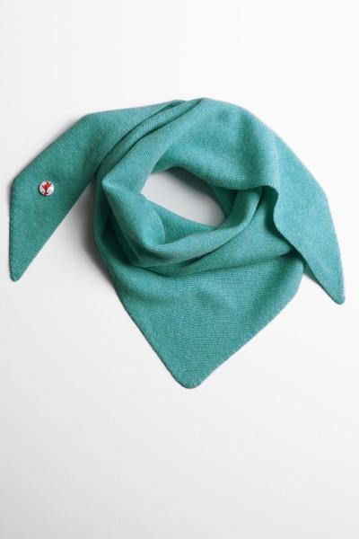 Triangle 100% Kaschmir turquoise