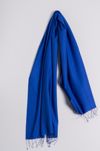 Pashmina 70x200cm royal-blau