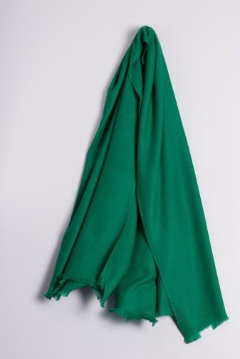 Pashmina 100% Kaschmir waldgrün
