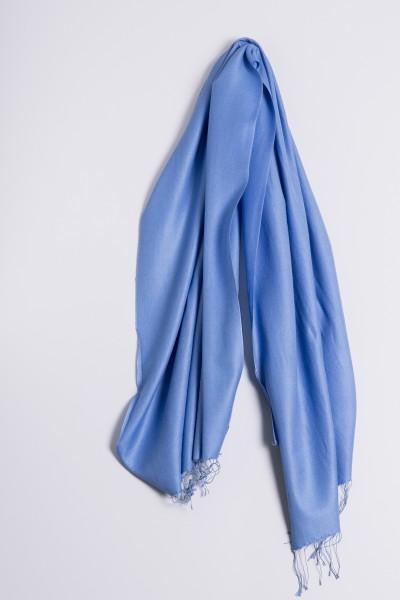 Pashmina 70x200cm himmelblau