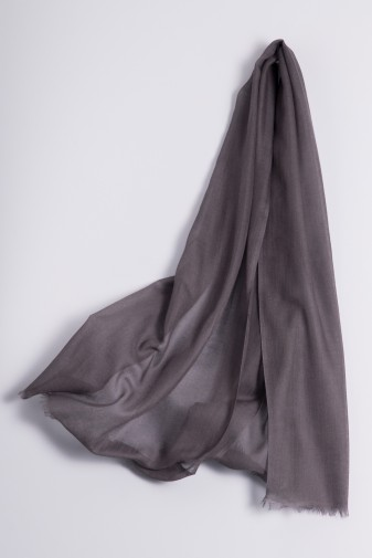 Hot Pashmina steel grey