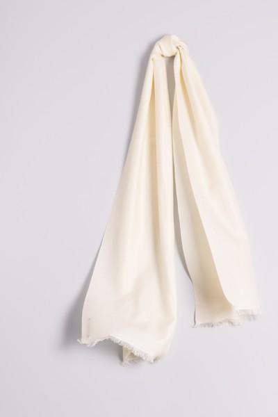 Pashmina 45x180cm wool white