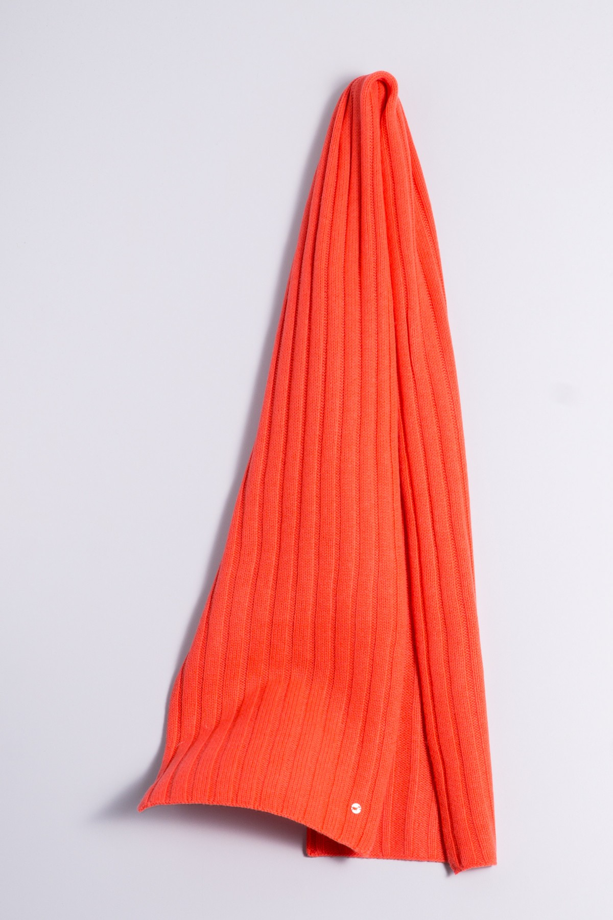 Cable Stitch Shawl 100% Cashmere fluorescent pink