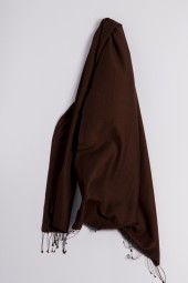 Pashmina 90x200cm brown