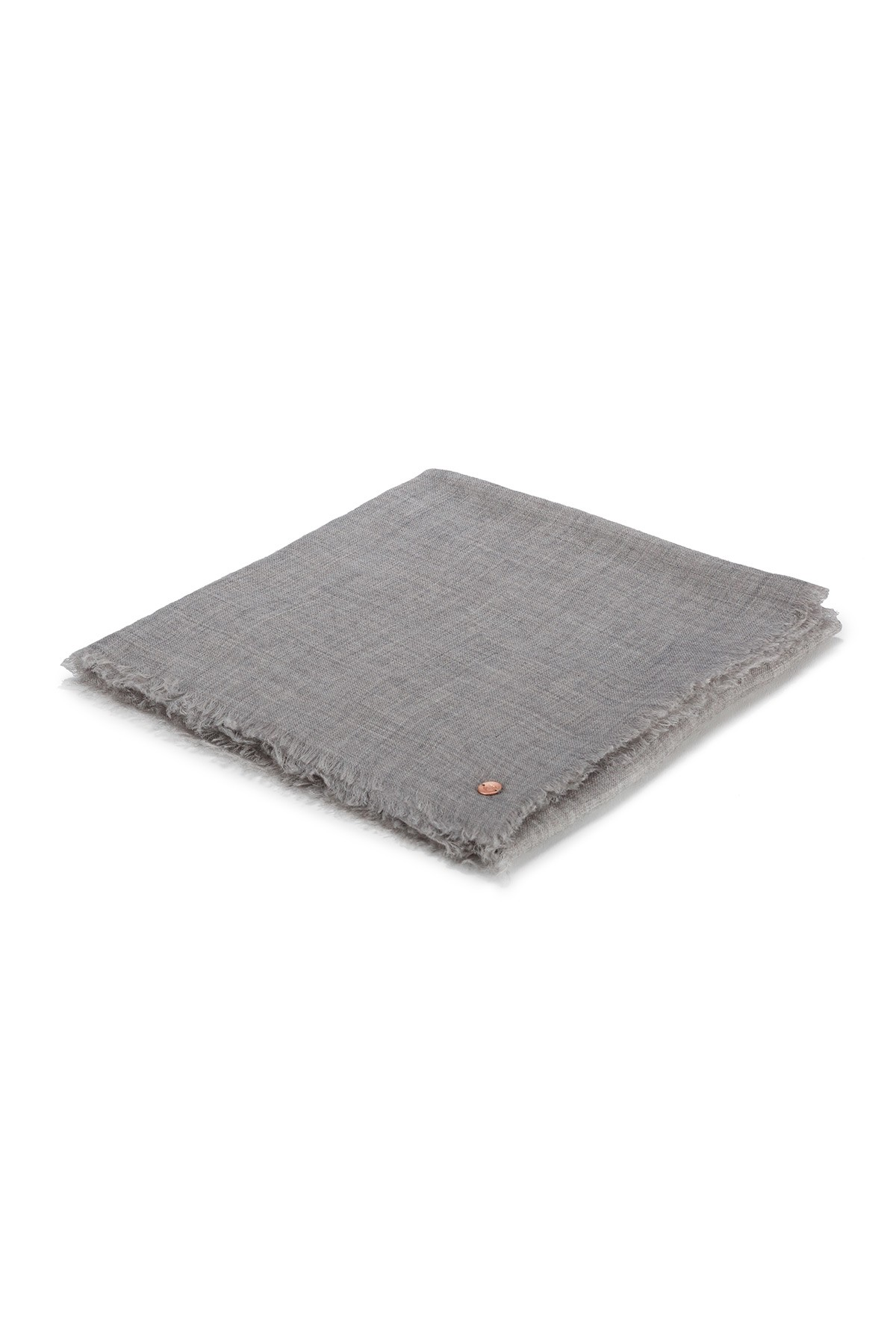 Eco-Shahtoosh Carré Grey
