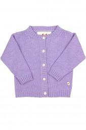 Baby Jersey knit jacket lilac