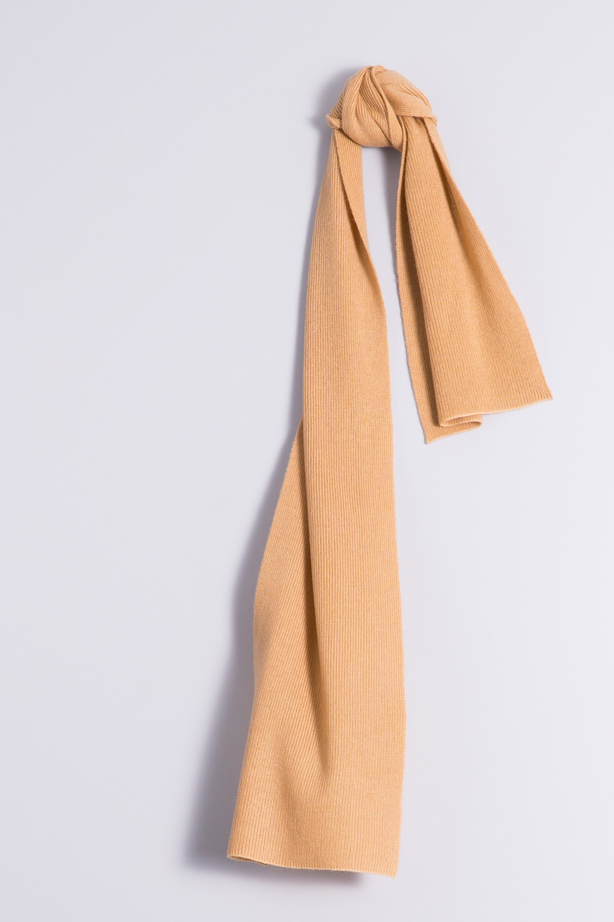Child's cashmere scarf camel