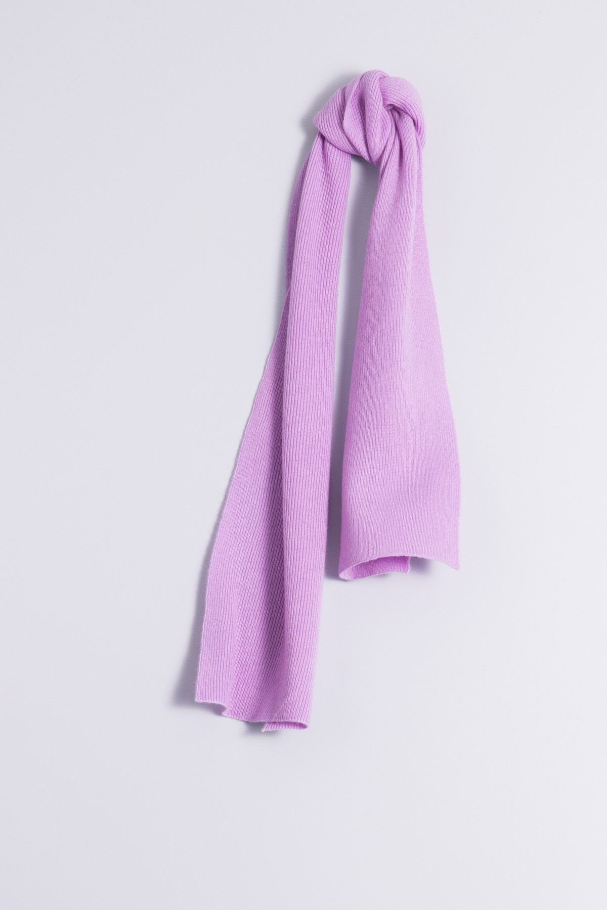 Child's cashmere scarf lilac
