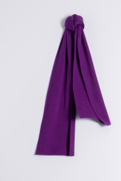 Child's cashmere scarf lila