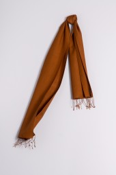 Pashmina 30x150cm bronze brown