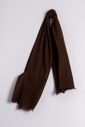 Pashmina 45x180cm brown