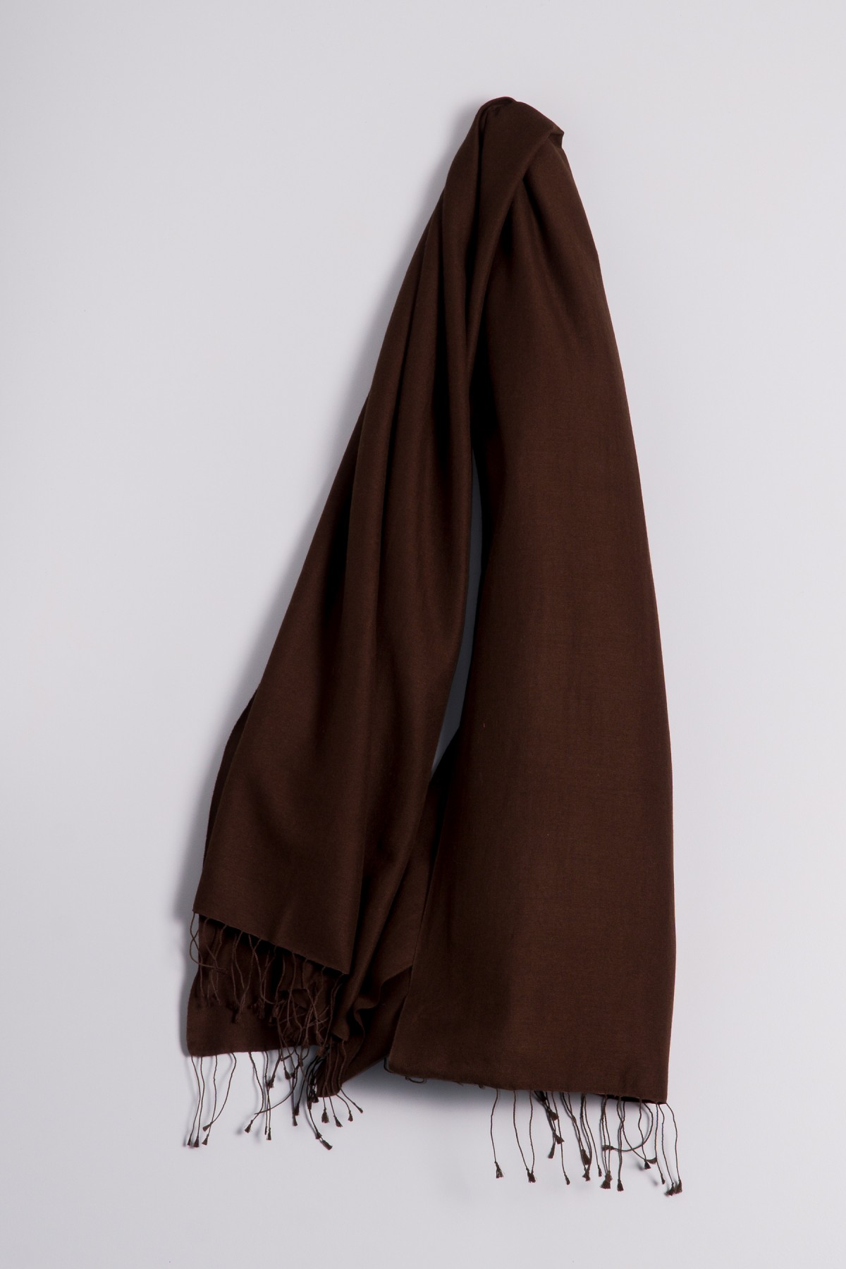 Pashmina 70x200cm brown