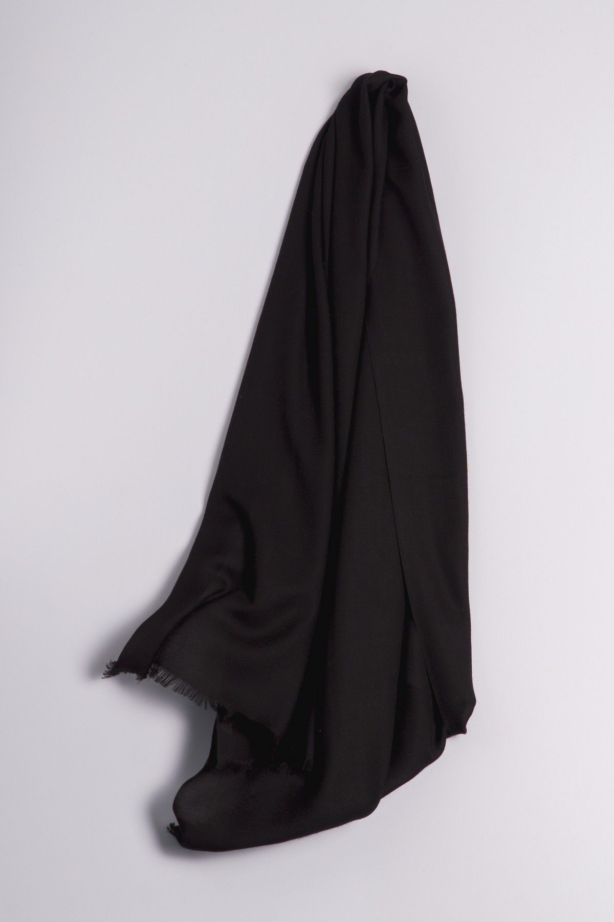 Ring-Shawl black