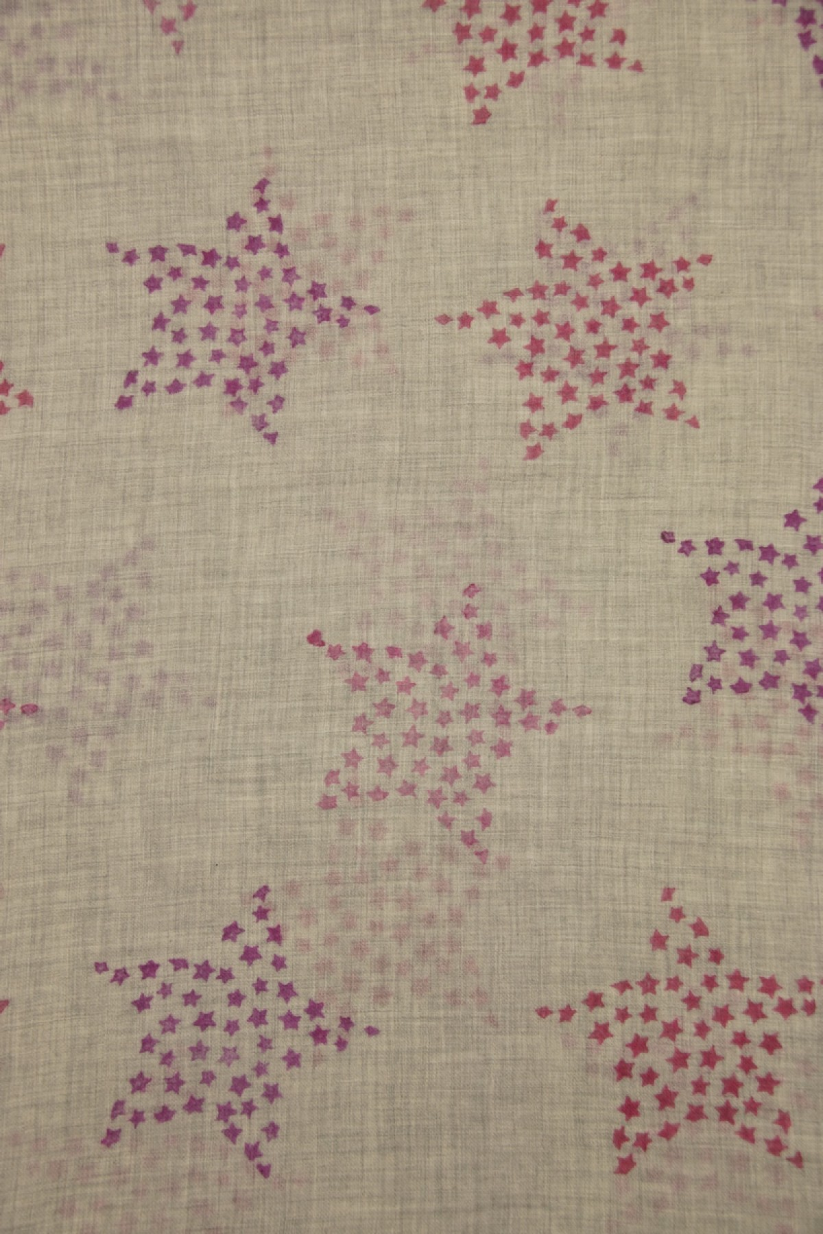 Eco-Shahtoosh Caviar Star azala pink